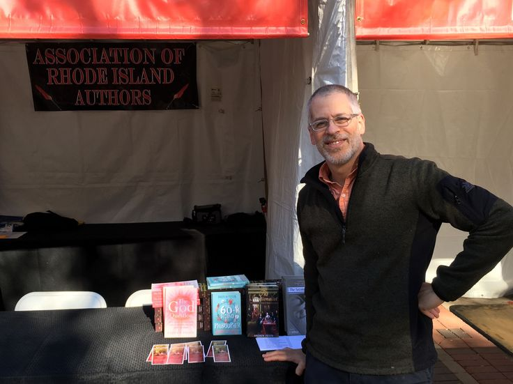 Thank you, Boston Book Festival! Andrew Pessin, author of multiple books including #TheIrrationalist, had a great time meeting readers!