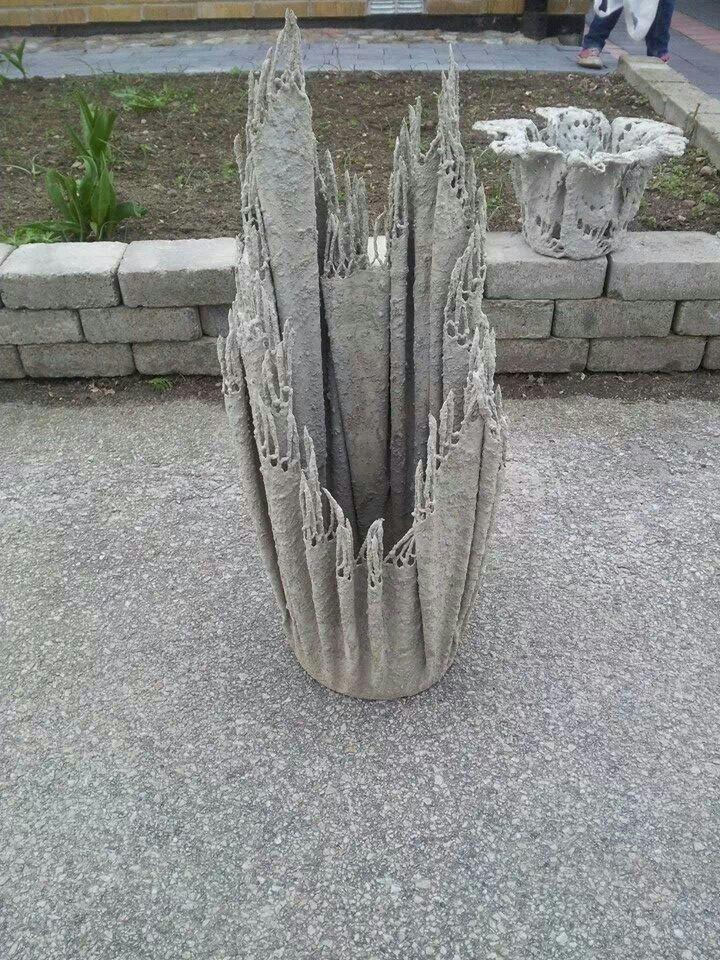 Duk i betong