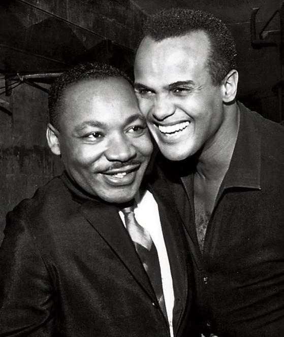 Belafonte mit Martin Luther King.