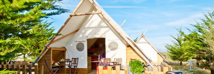 French Glamping : Holiday rentals Noirmoutier: Cocoon, rent luxury camping - Vendee | Domaine Les Moulins