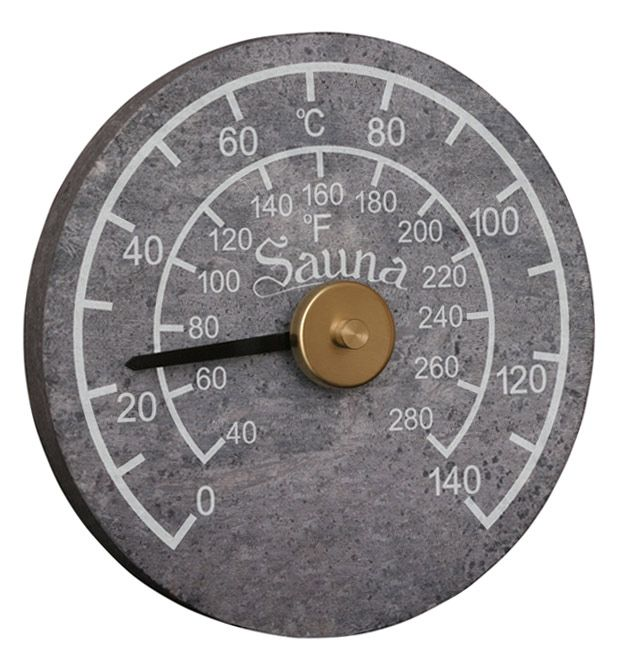 Engraved Stone Thermometer