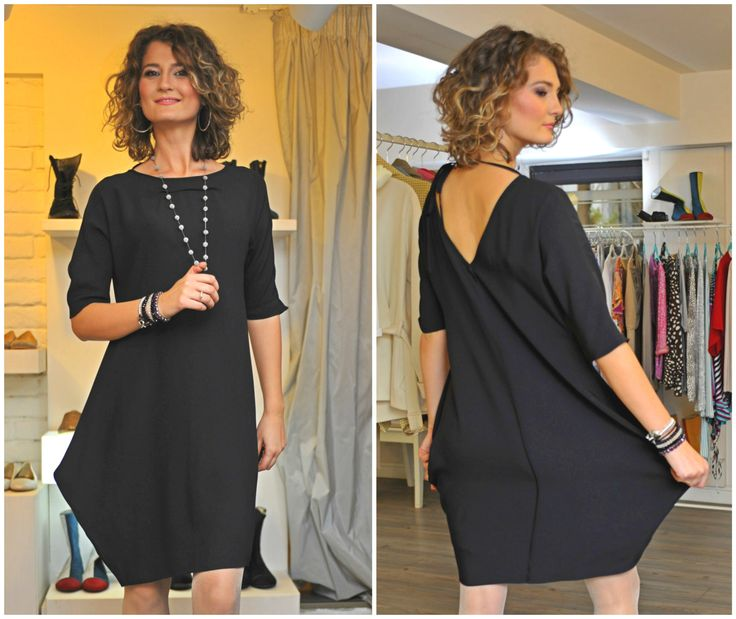 Rhomboid dress - the little dress you have to have