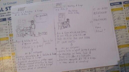 """Une action politique du Mouvement Démocrate du Finistère (MoDem29) en deux dessins: le dossier """"prises électriques""""..."""
