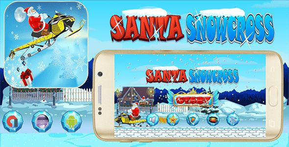 Download Santa Snowcross With Admob Banner & Interstitial - Eclipse Project Nulled Latest Version