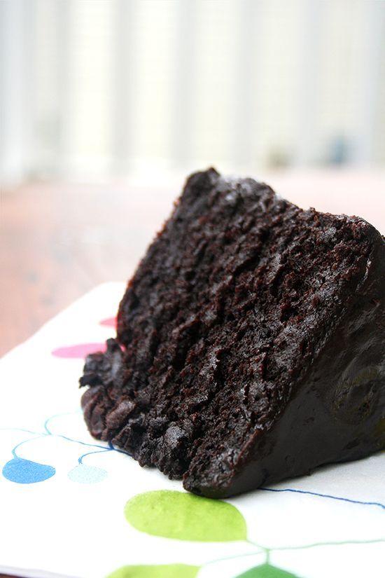 Matilda Cake The Best Chocolate Cake. Lake Champlain Fair Trade Cocoa | alexandra's kitchen
