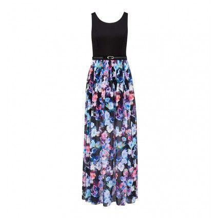 Milana printed maxi dress Main Image