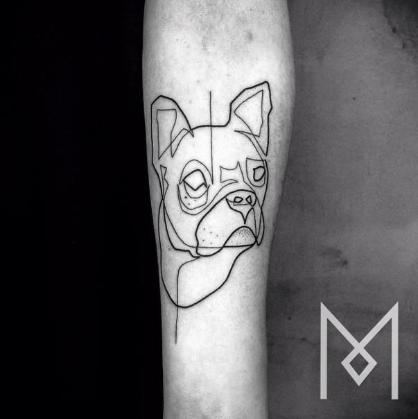 Single Line Drawing Tattoos : Single line tattoos that are perfect for minimalists