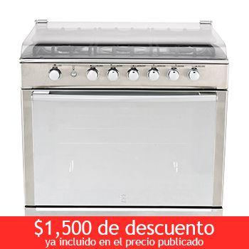 """Costco Mexico - GE estufa empotrable de gas 6 quemadores 30"""""""