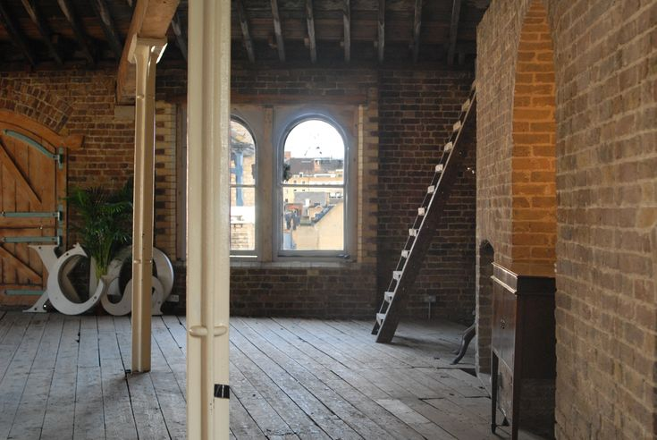 The Menier Attic #originalfeatures #venue #exposedbeams #sashwindows #warehouse #woodenfloor #ladder #props #eventspace #photoshoot #location #menierspaces #menierattic #filmlocation