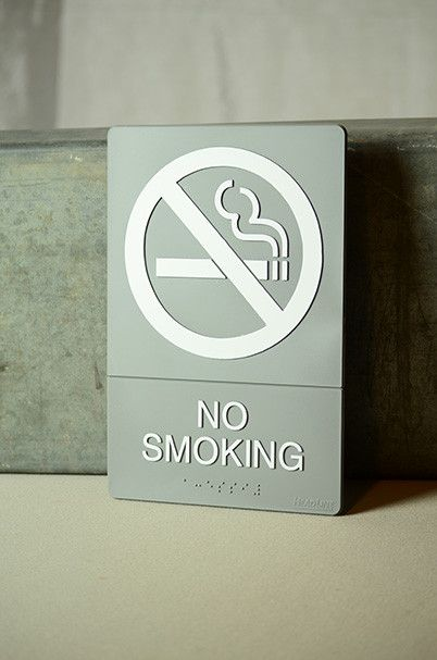 "6"" x 9"" No Smoking Sign"