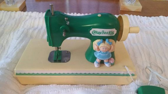 Check out this item in my Etsy shop https://www.etsy.com/ca/listing/469686442/rare-80s-cabbage-patch-kids-sewing