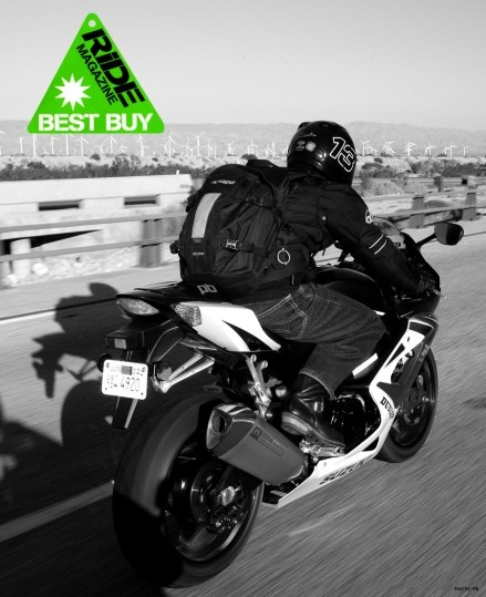 Best backpack on the planet for riders - R25 motorcycle backpack