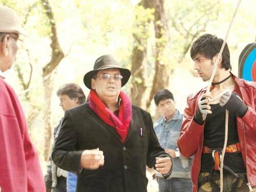 Kartik Tiwari and Subhash Ghai in Nainital