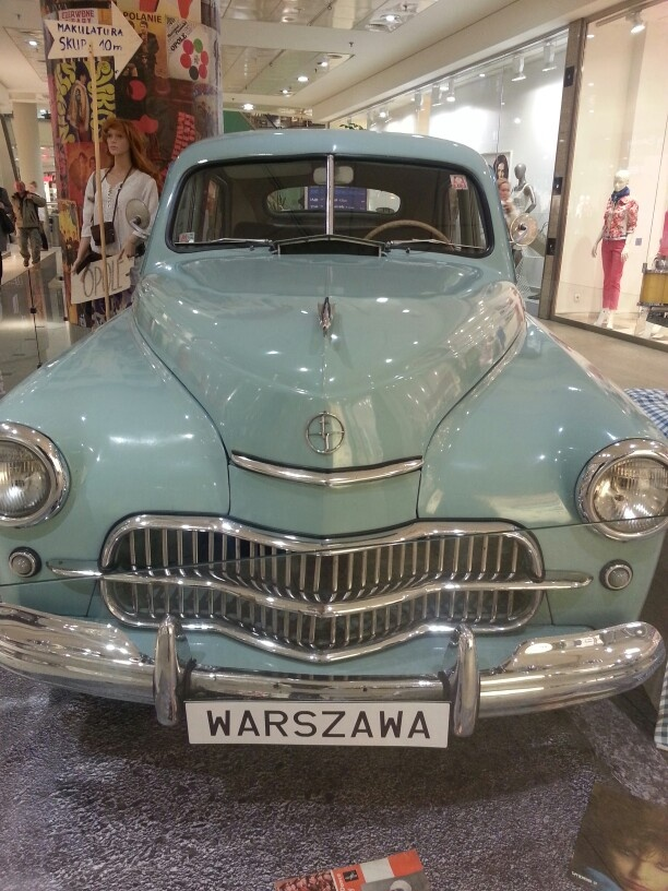 Warszawa, car produced in Poland