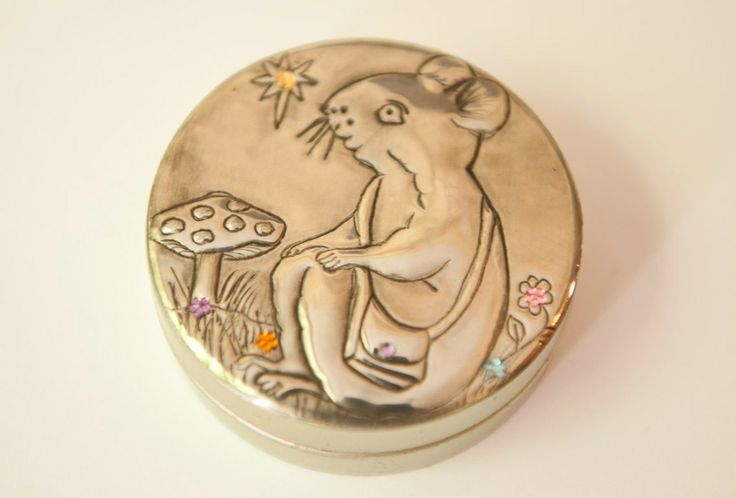Tooth Fairy tin with handcrafted pewter detail - AnnMack