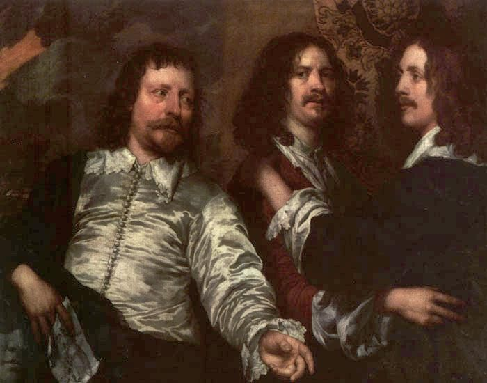 William Dobson - The Painter with Sir Charles Cottrell and Sir Balthasar Gerbier - WGA06361 - William Dobson - Wikipedia