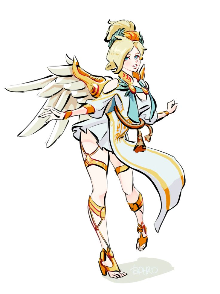 image Mercy on top  by yeero overwatch blender animation wsound