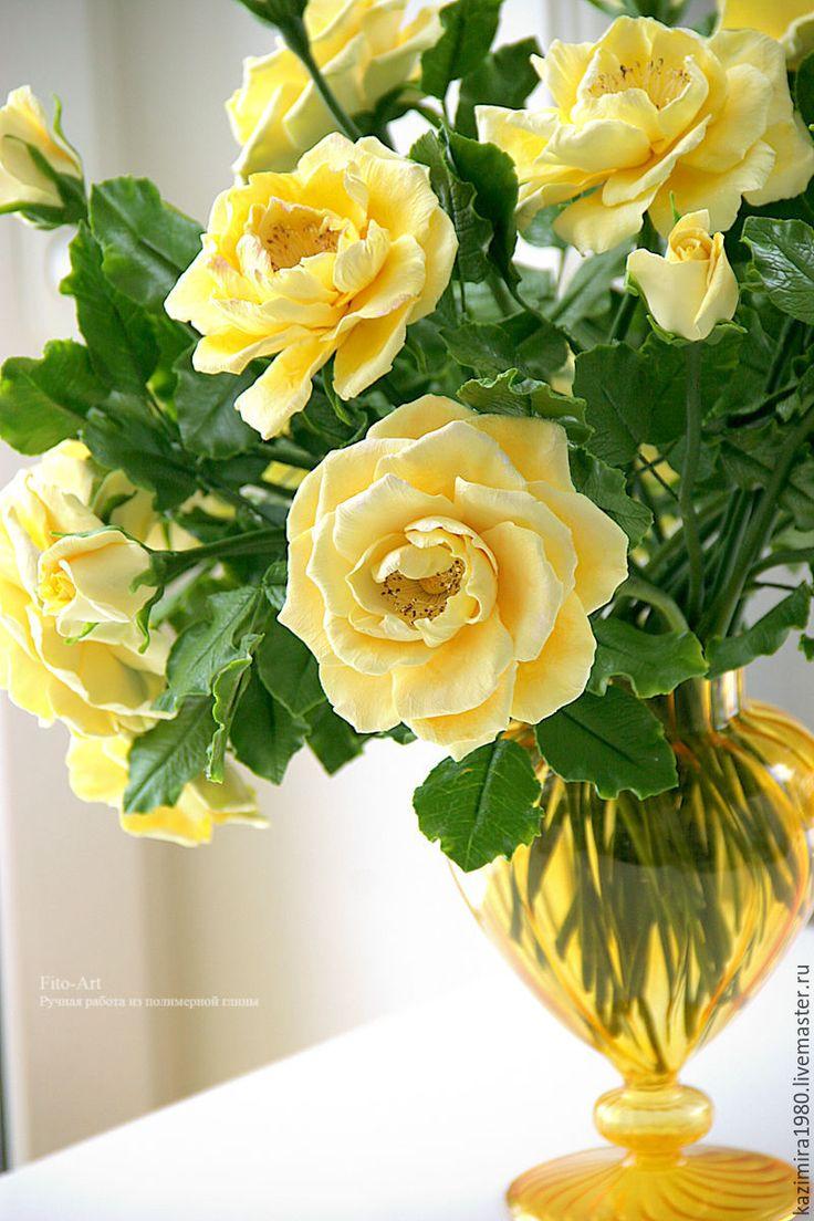 Купить жёлтые розы