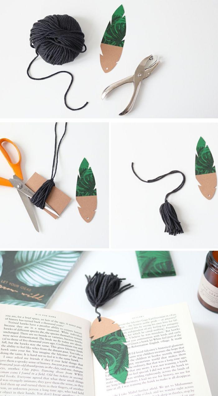 ▷ 1001 + ideas sobre cómo hacer marcarpáginas DIY super originales