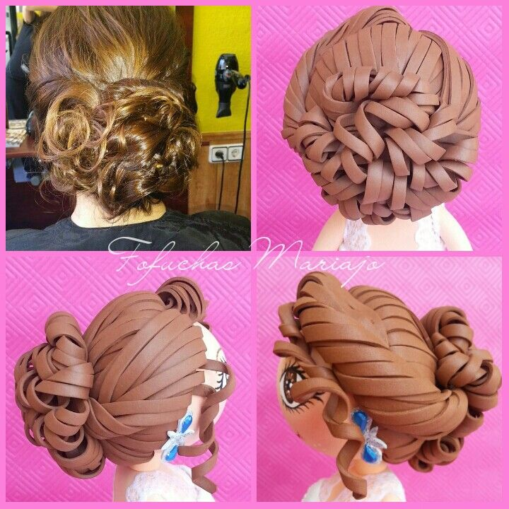 409 best Fofuchas peinados images on Pinterest | Jelly beans, Hair ...