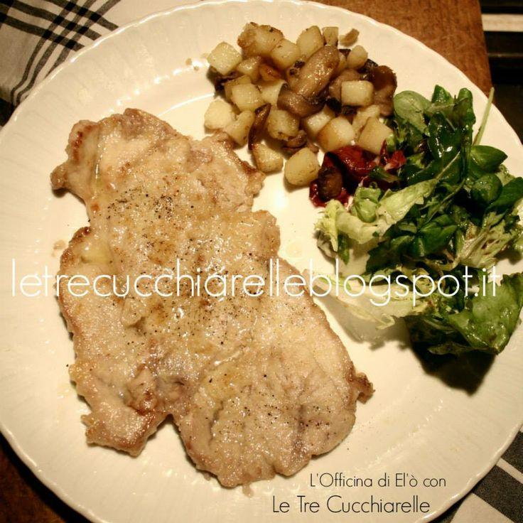 Scaloppine di vitella - Escalope of veal