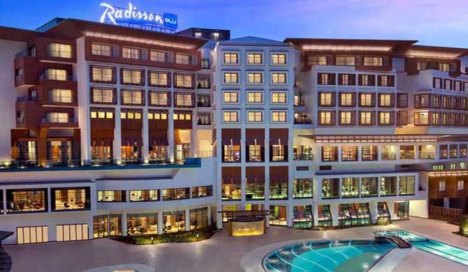 Radisson Blu Hotel & Spa, Istanbul Tuzla Find a perfect retreat at the Radisson Blu Hotel & Spa, Istanbul Tuzla, situated just minutes from Istanbul Sabiha Gokcen International Airport. The hotel is also close to several forms of public... #Hotel  #Travel #Backpackers #Accommodation #Budget