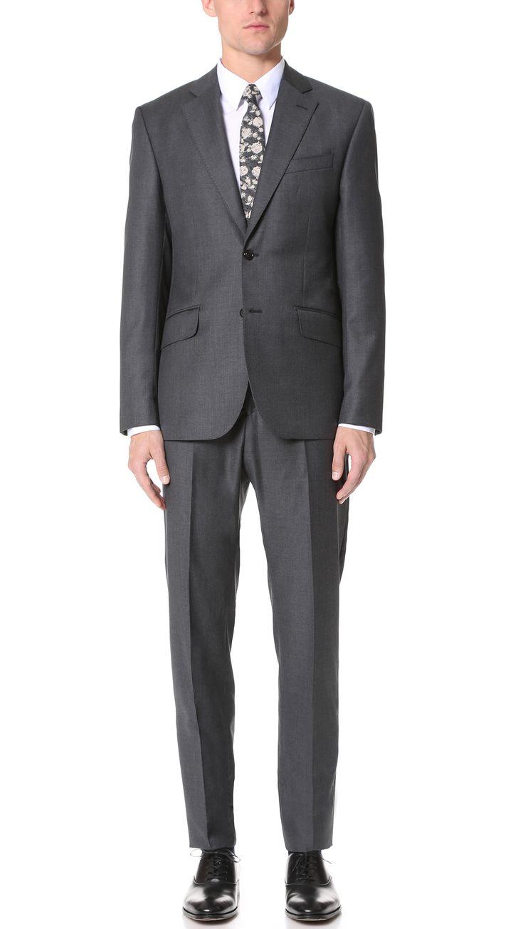 HARDY AMIES Clear Cut Twill Brinsley Suit. #hardyamies #cloth #suit
