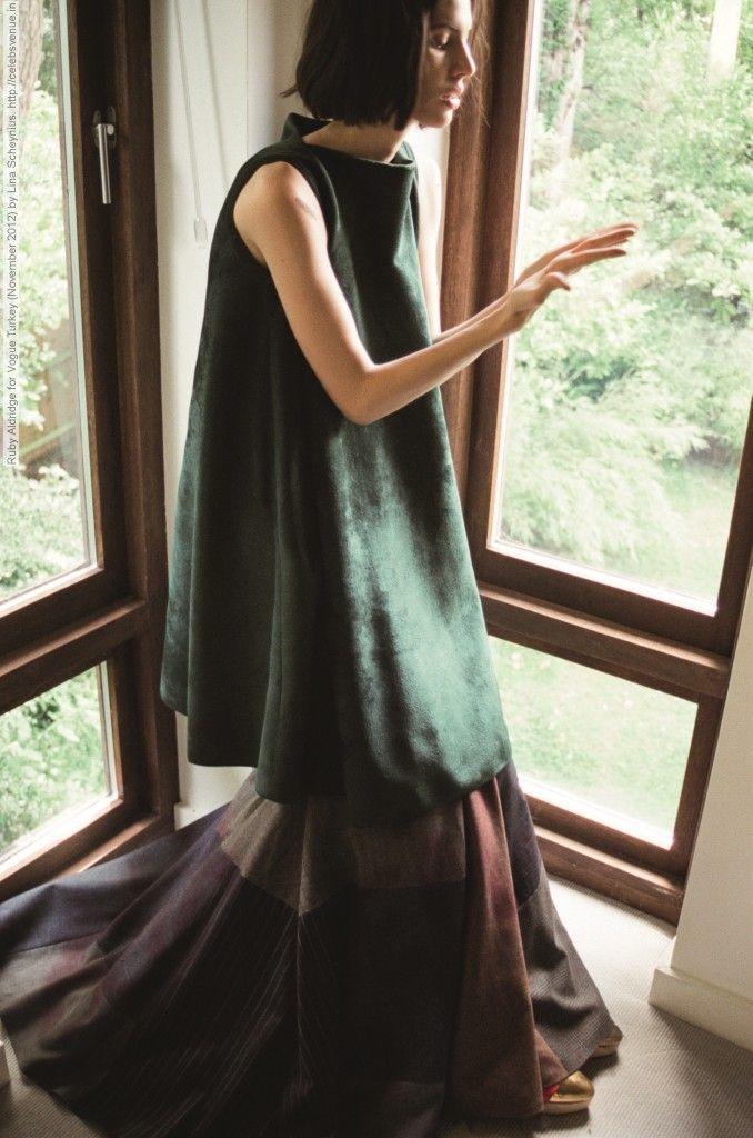 Ruby Aldridge for Vogue Turkey (November 2012) by Lina Scheynius