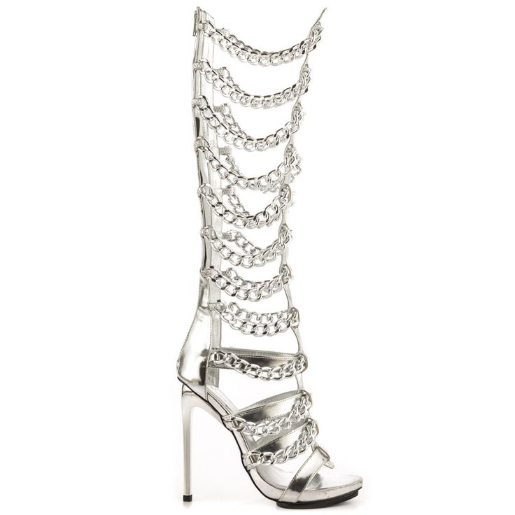 Vunk - Silver Privileged $164.99  Heels &amp Shoes  Pinterest