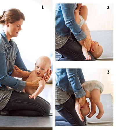 Styrk babys sanser med tumlelege