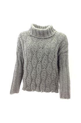 Strikkeopskrift flot sweater - Køb i dag og strik i morgen !
