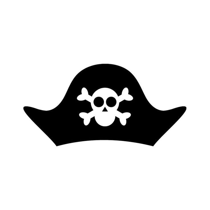 Vinilo infantil gorro pirata Gorro pirata, Piratas, Vinilo i