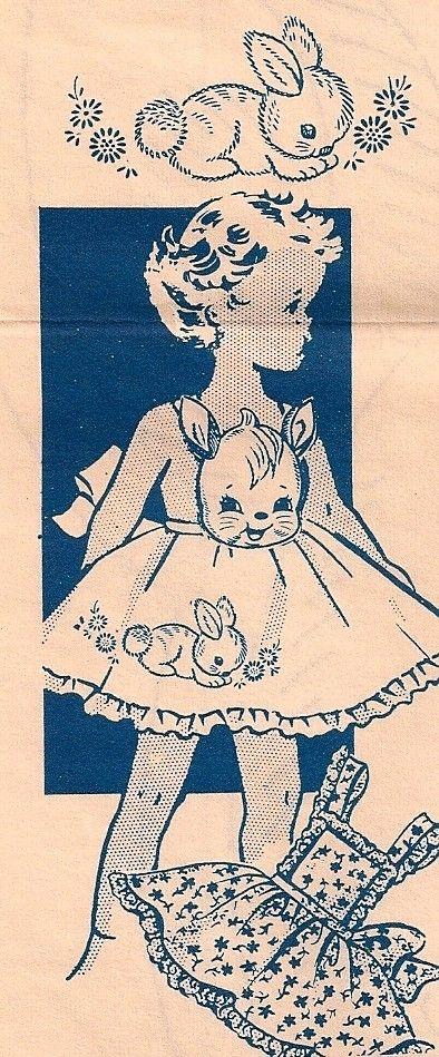 girls apron pattern, 1940sDresses Pattern, Aprons Pattern, Little Girls, Crafts Ideas, Vintage Aprons, Aprons Dresses, Vintage Illustration, Apron Patterns, Vintage Dress Patterns