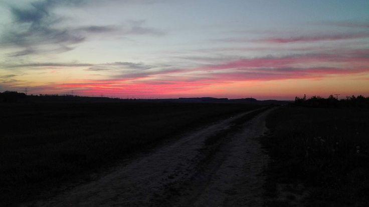 #sunset#splendor#myphoto#beautiful#pink
