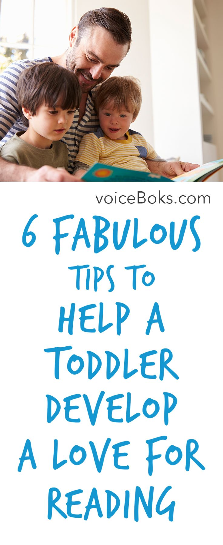Tips to help a toddler develop reading interests