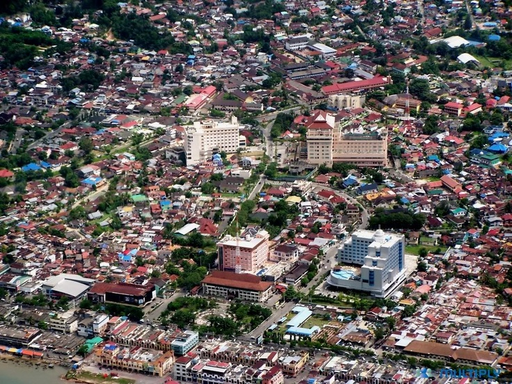Balikpapan, Indonesia: Believe it or not - I lived here (or near here) when it was all jungle.