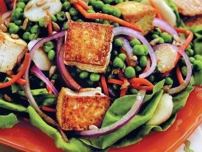 Ensalda tofu | cenas nutritivas
