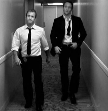 White Hot Wednesday #AlexOLoughlin #ScottCaan