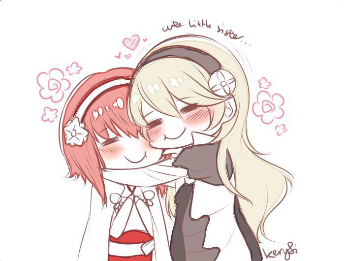 Yes, I love Sakura. She's so cute! Quickly became a favorite of mine as soon as I saw her. I'm a total sucker for cute female characters with short and or pink hair.   Fire Emblem: If/Fates - Sakura, Kamui/Corrin