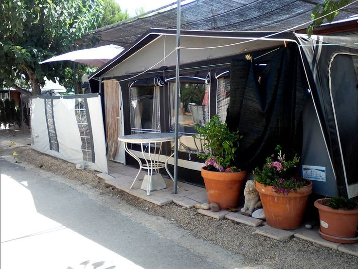 Resale Static Touring Caravan For Sale On Popular Benidorm Campsite. 6 Berth Caravan & Awning For Sale On Camping Benisol Caravan Park In Benidorm. Sited And Ready To Be Enjoyed With Lots Of Ex…