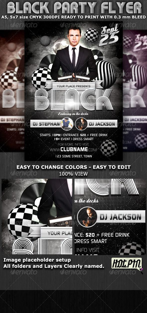 Best Nightclub Flyer Design Images On   Flyer