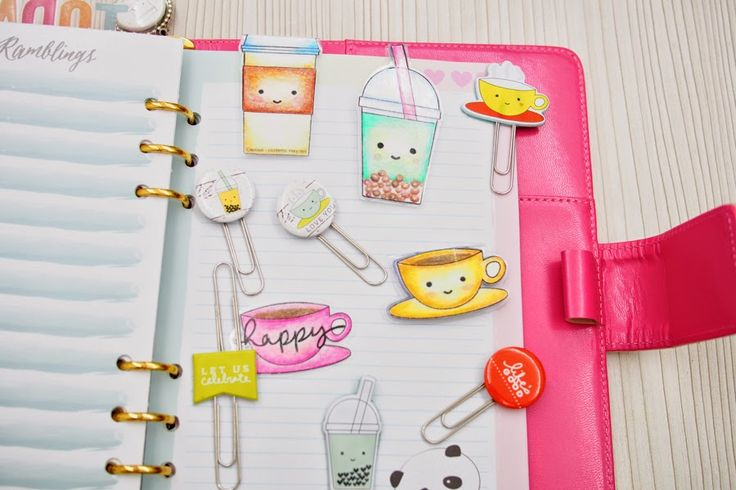 Happiness is Scrappy: Planners | From Scrapbooking Goodies to Planner Goodies