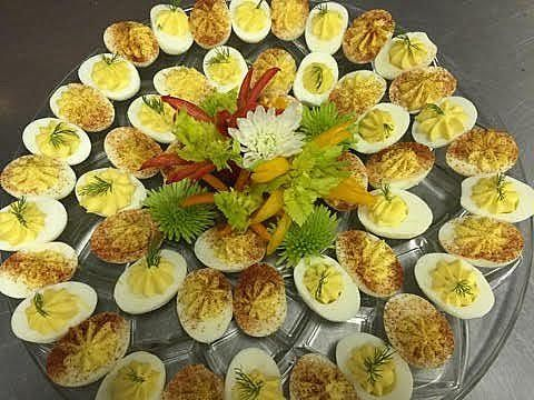 ALACARTE CATERING created this fabulous Deviled Egg Platter for a recent party!   #food #wedding #atlantawedding #atlantacatering #foodideas #weddingideas #entertaining #cateringideas #fingerfoods #cateringideas #entertainment #entertaining