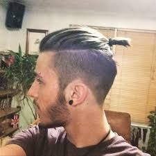 men top knot undercut - Google Search
