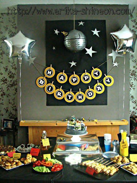SHINE ON: Lego Star Wars Birthday party