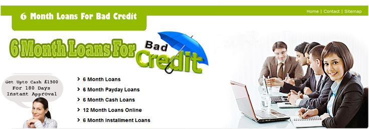 We arrange 6 month loans, 6 month payday cash loans, 6 month loans bad credit , no guarantor with low interest rate in UK. Apply Now!! http://www.6monthloansbadcredituk.co.uk/