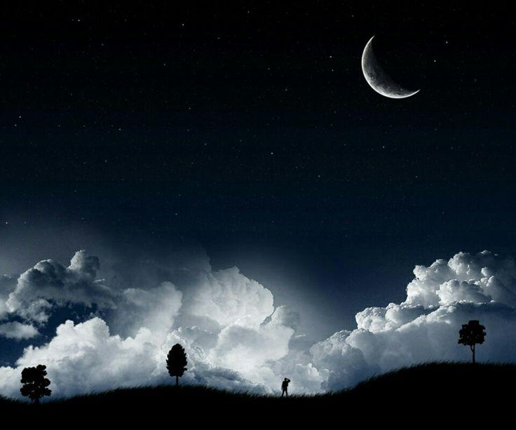 Night  time  moon