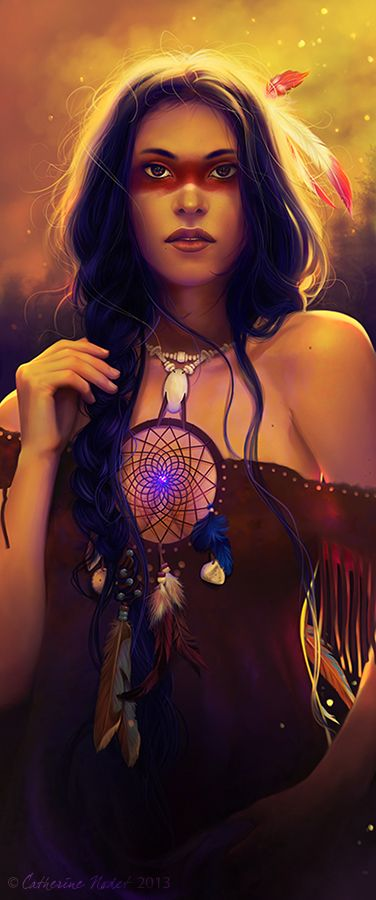 Dreamcatcher by CatherineNodet.deviantart.com on @deviantART