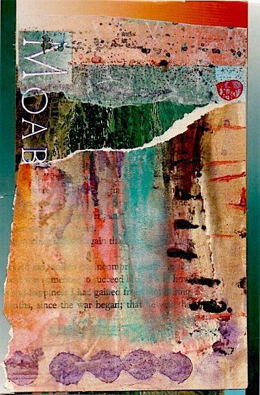 Nancy Bell Scott #MixedMedia collage