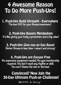 What are the Benefits of Push-Ups | Eat. Drink & be Skinny!